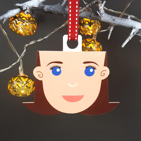 Mum Gift Christmas Decoration - Afewhometruths