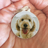 Pet Memorial Keepsake Keychain Gift - Custom Printed from your Pet Photo - Afewhometruths