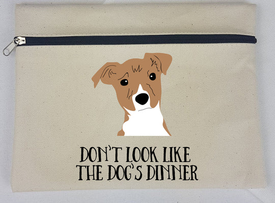 Personalised Dog Makeup Bag - Multi choice - Afewhometruths