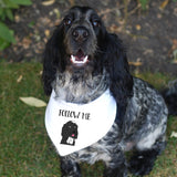 Personalised Dog Bandana Neckerchief - Afewhometruths