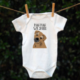 Personalised Partners-In-Crime Babygrow - Pre-drawn or Photo upload - Afewhometruths