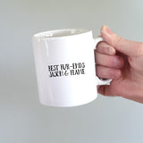 Personalised Cat Dad Gift Mug - Afewhometruths