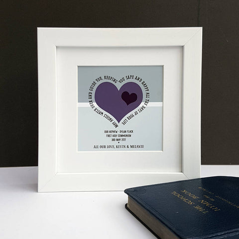 First Holy Communion Personalised Verse Print