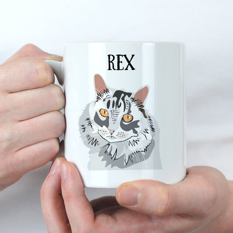 Personalised Cat Lover Gift Mug - Afewhometruths