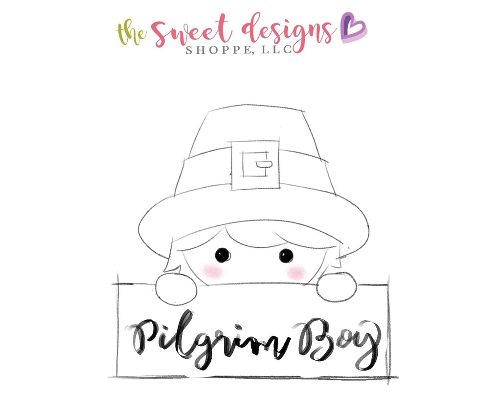 Pilgrim Boy Plaque - Cutter