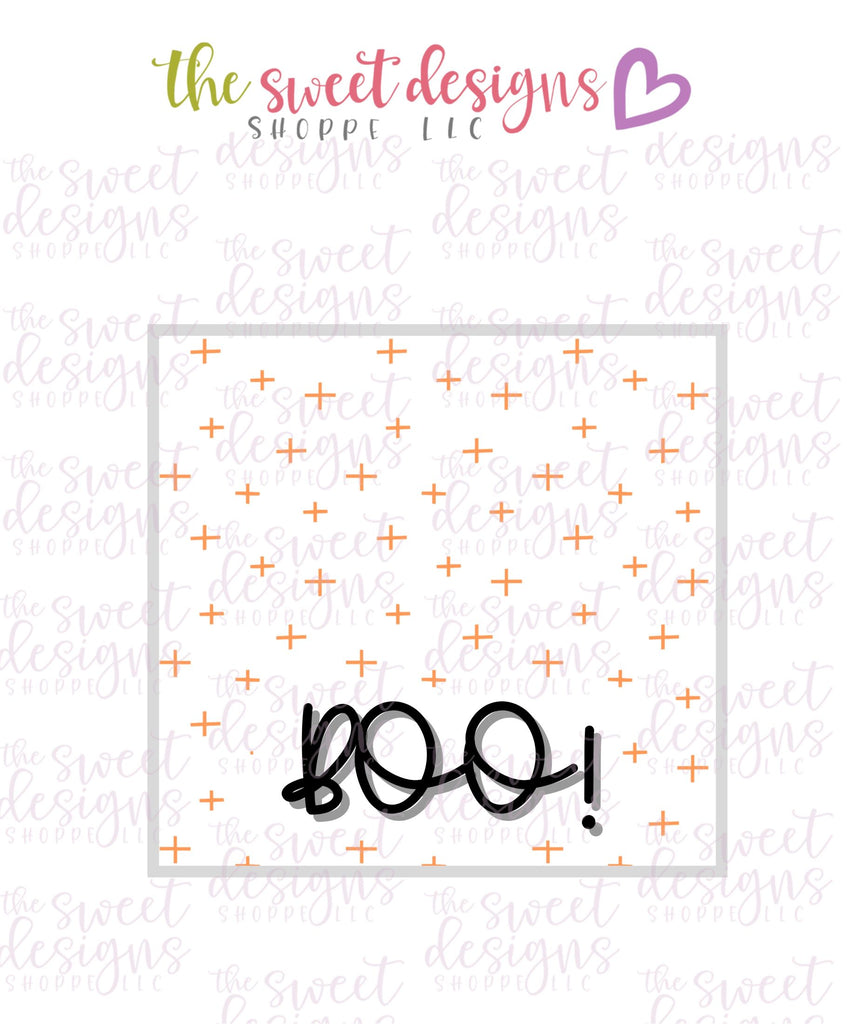 Boo #3 - Instant Download Topper 3""