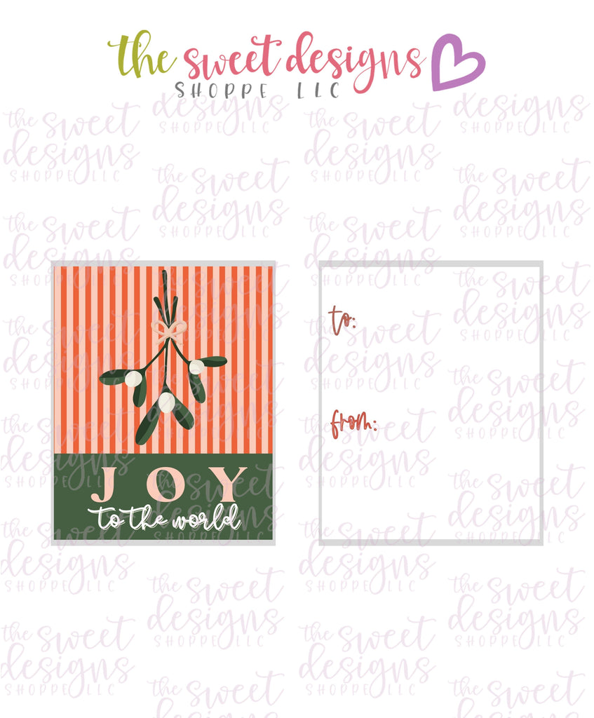"JoyToTheWorld #2 - Instant Download 2"" x 2.5"" tag"