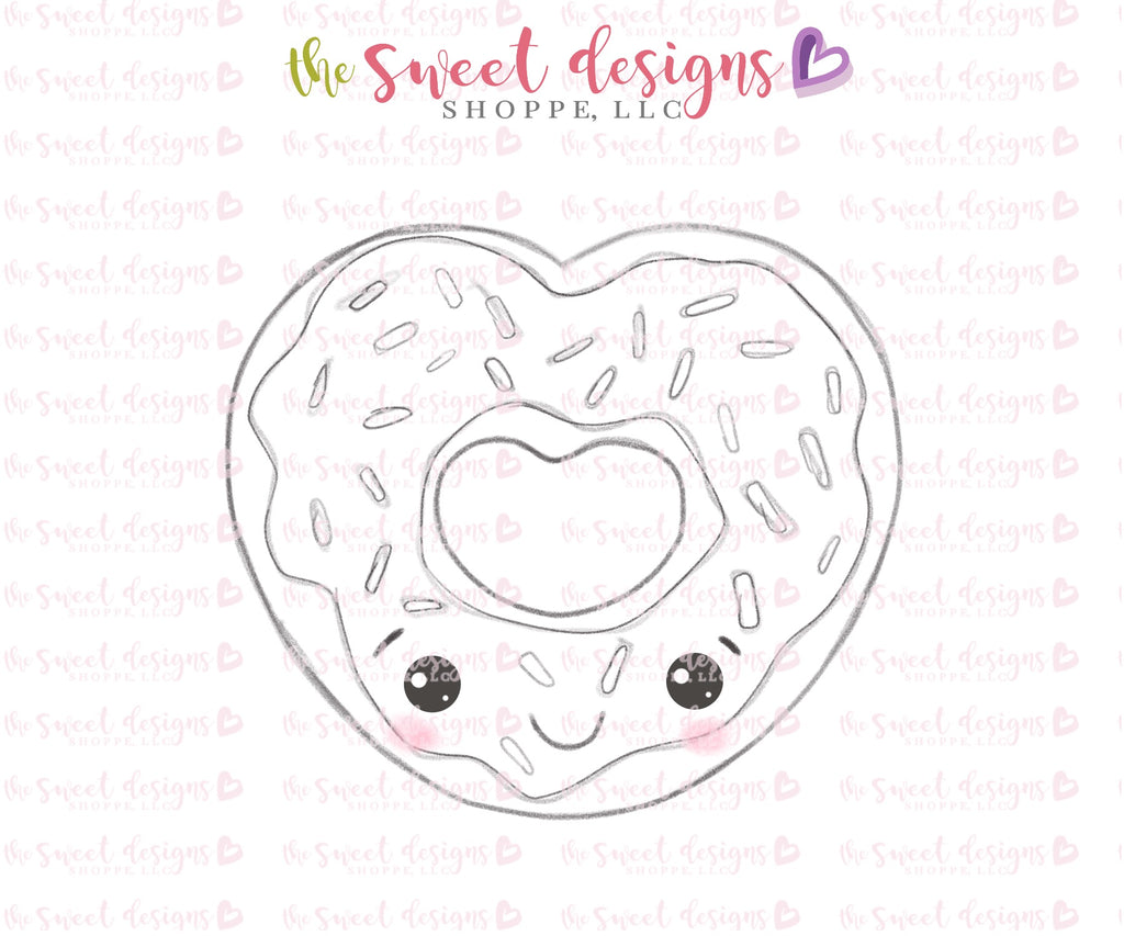 Heart Donut - Cutter