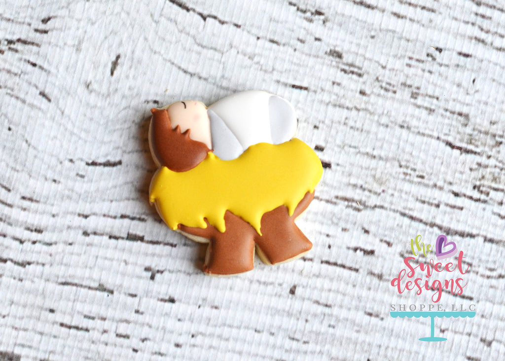 Nativity - Regular Size (4 inch) - Cutter