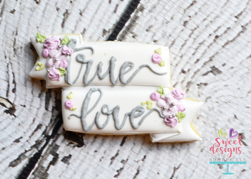 True Love Banner - Cutter