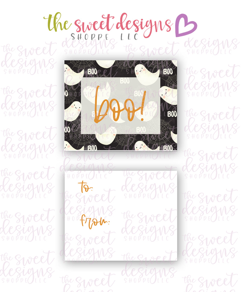 "Boo #1 - Instant Download 2"" x 2.5"" tag"