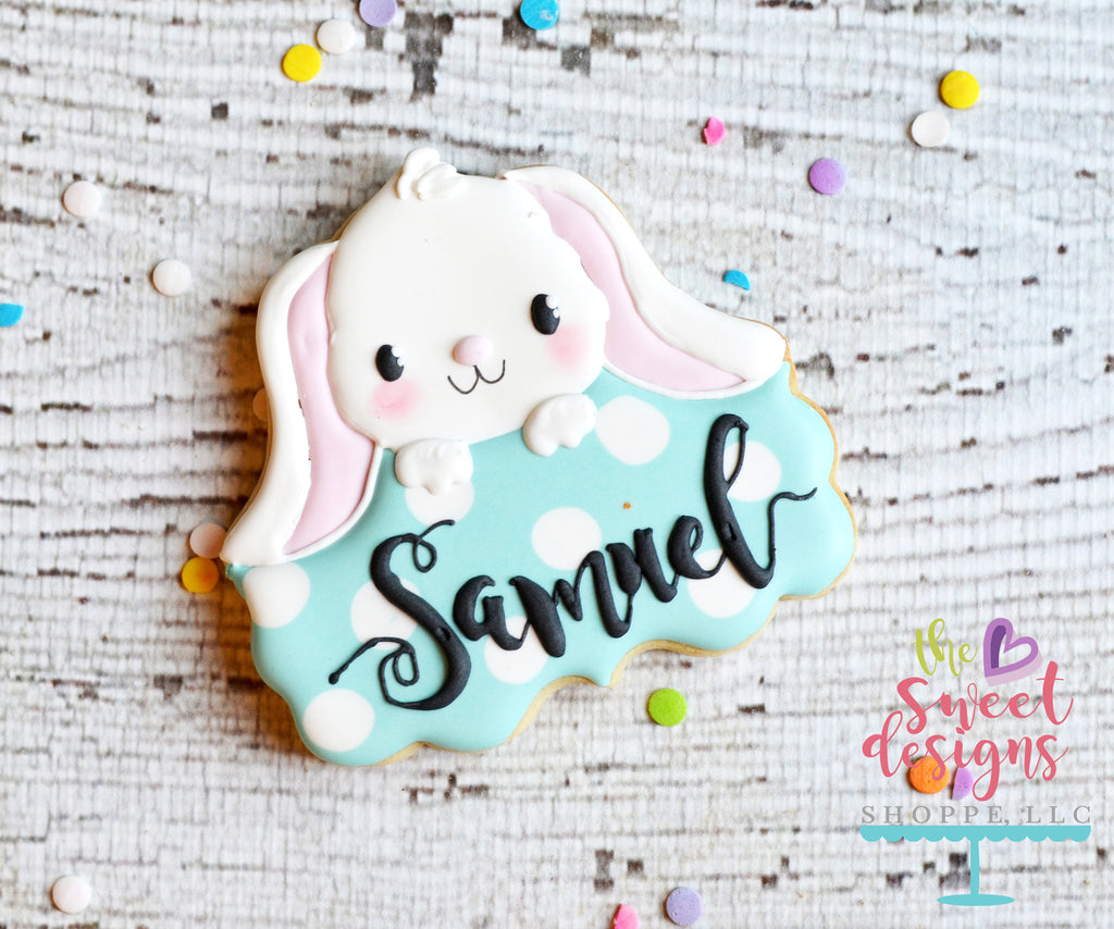 Cute Bunny Plaque - Cutter