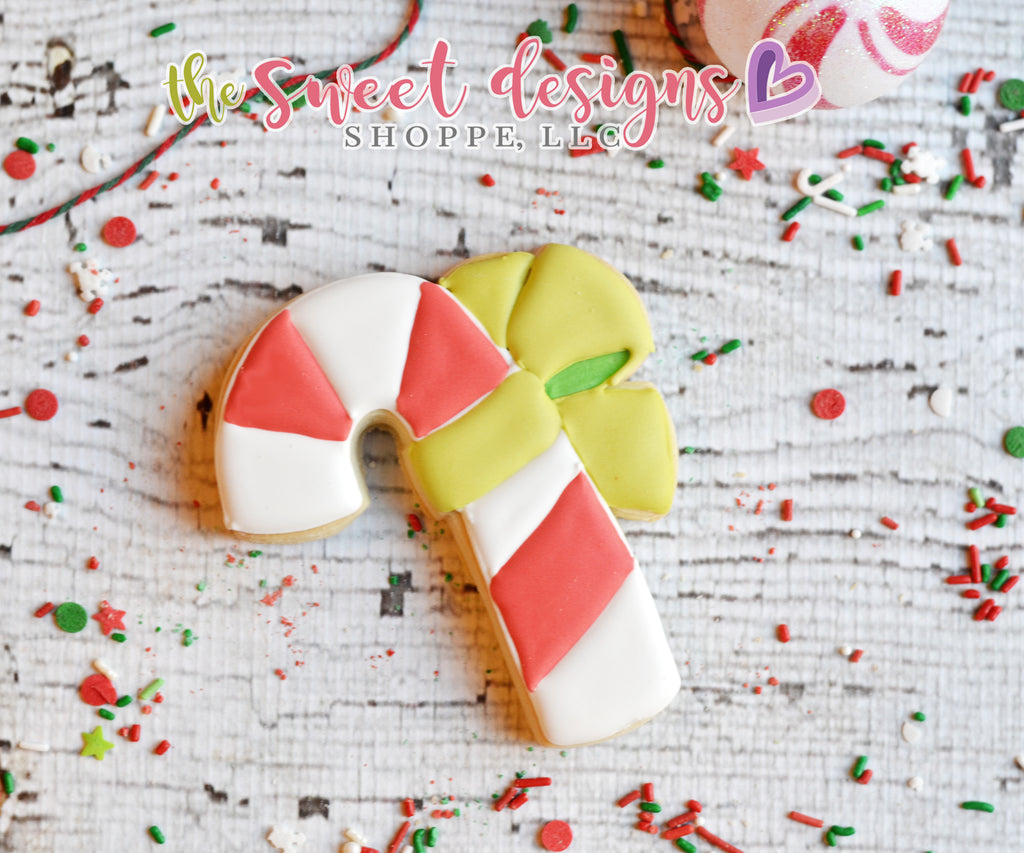 Candy Cane with Bow (2017) - Cutter