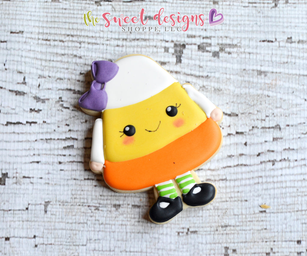 Candy Corn Girl - Cutter