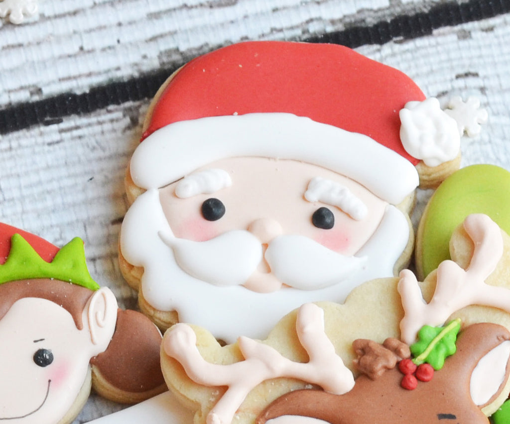 Christmas Santa and Cookie Set - Cutters