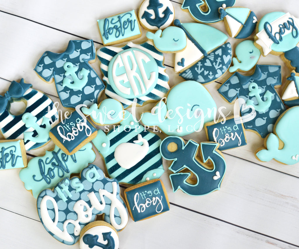 Nautical theme cookie cutters