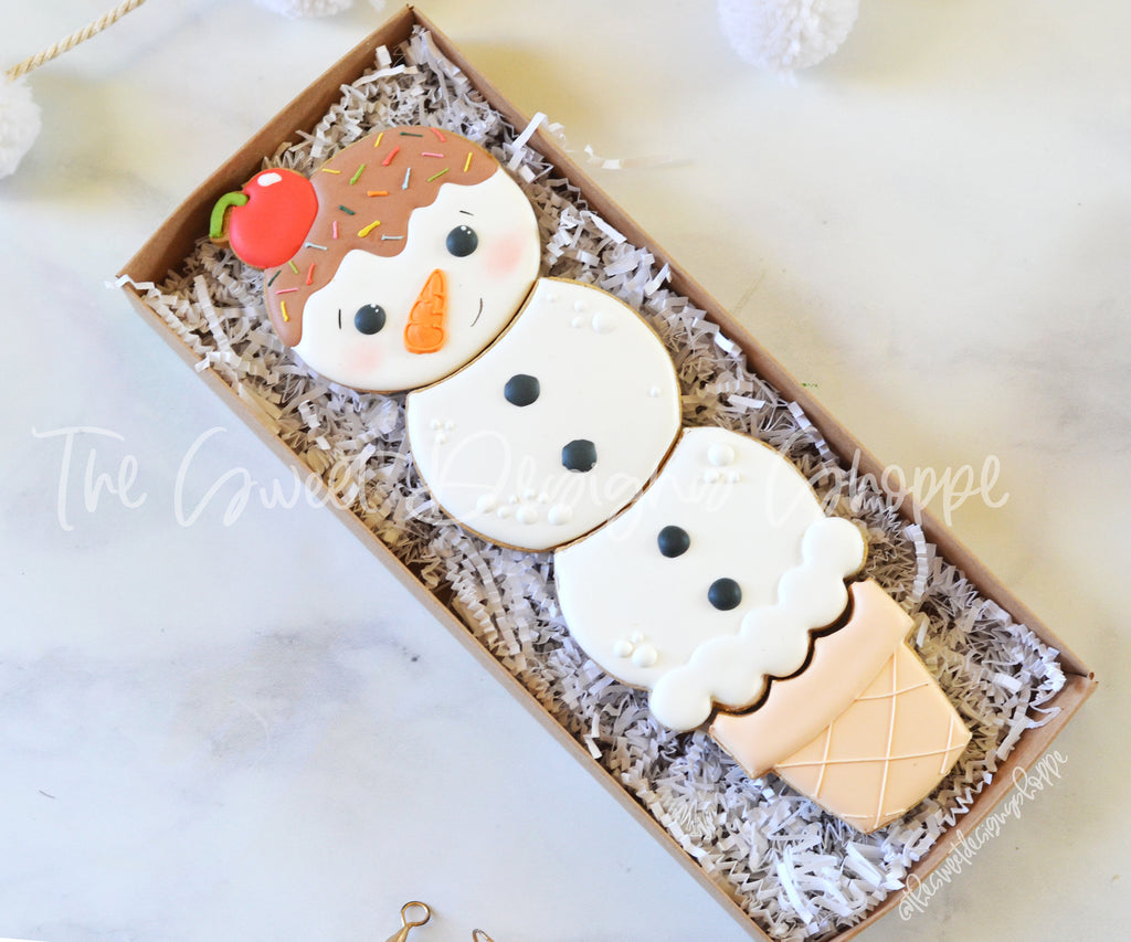 BYO  Ice Cream Snowman Set - Cutters