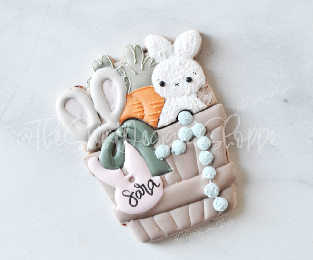 "BYO Easter Basket Set  - Cutters for Box 7"" x 4-3/8"""