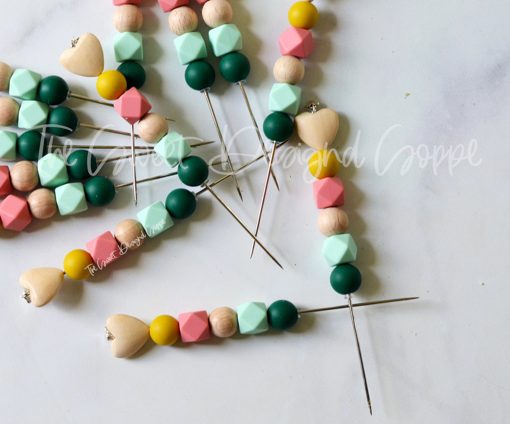 "Cookie Scribe - ""Tulips and Eucalyptus"" - Cookie Decorating Tool - 6"" Long."