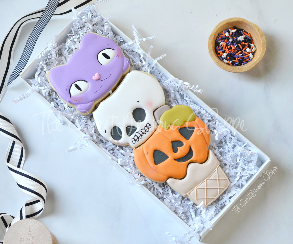 Halloween Ice Cream Cone Set - Cutters
