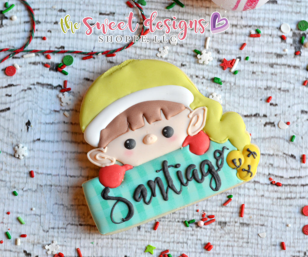 Boy Elf Plaque - Cutter