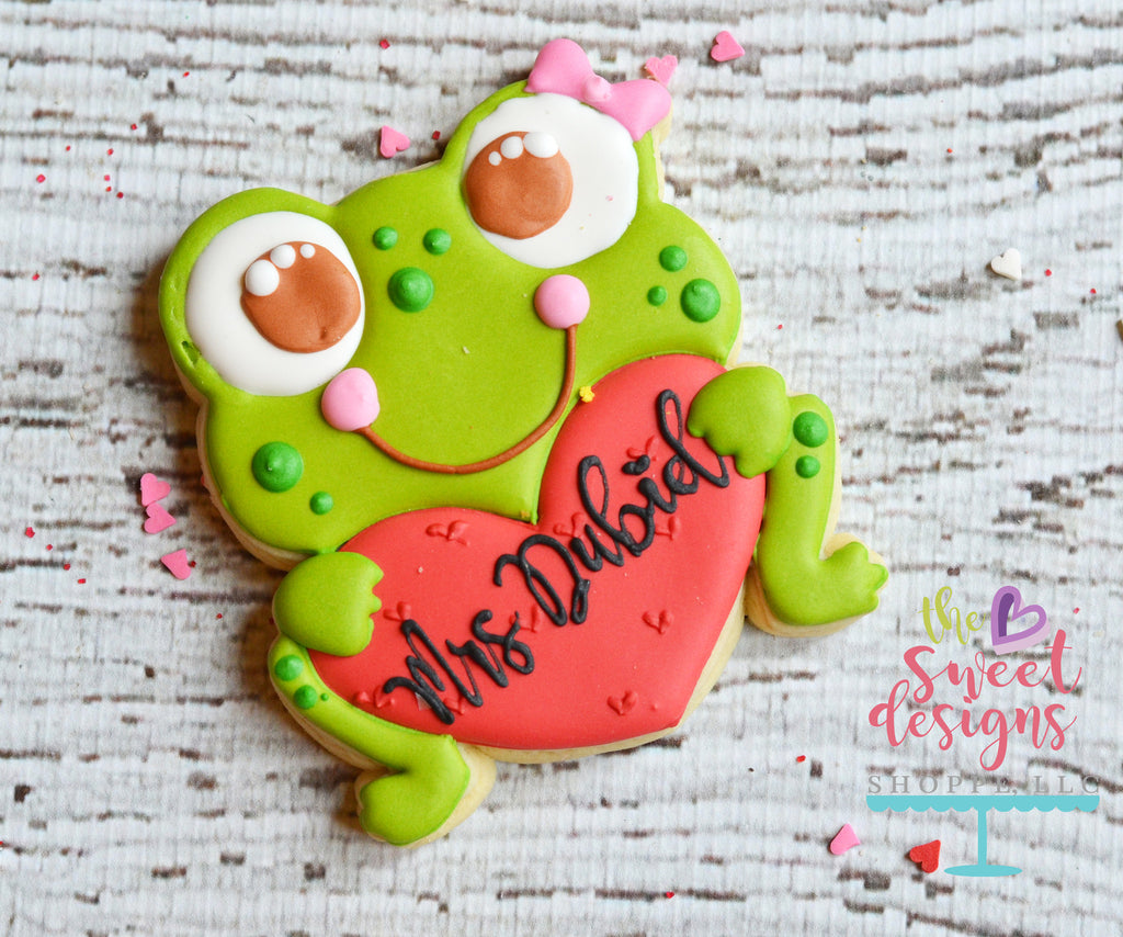 Girly Frog With Heart