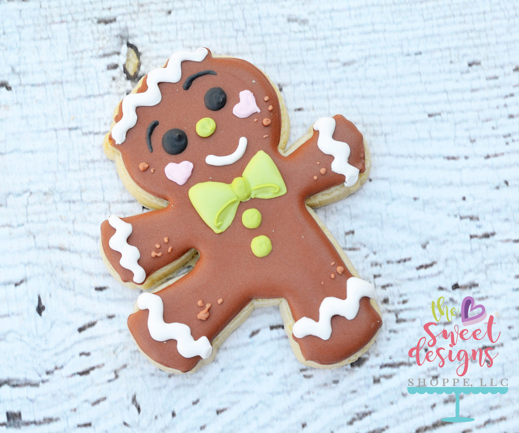 Dancing Gingerbread Boy