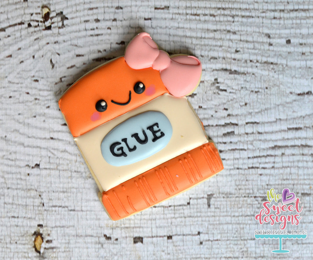 Girly Kawaii Glue Stick - Cutter