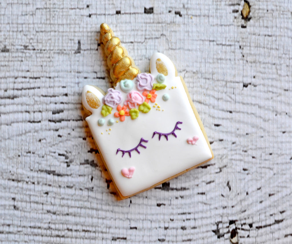 Unicorn Face Cake - Cutter