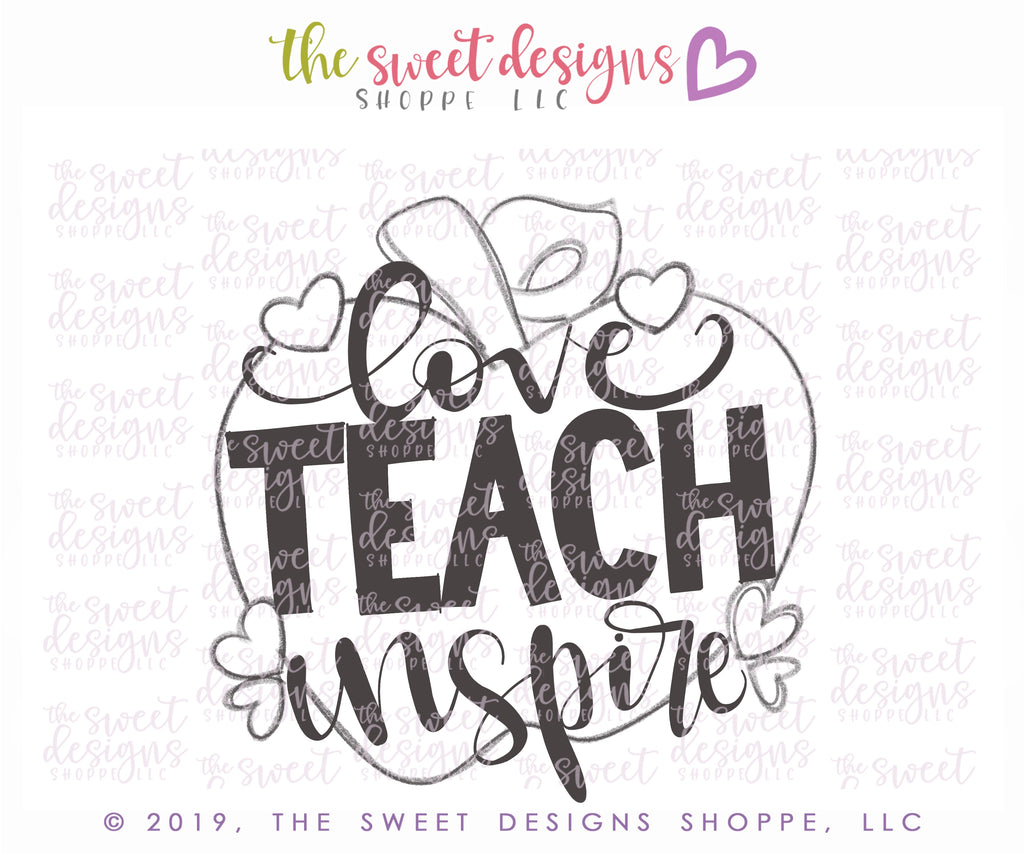 Love, Teach, Inspire Apple