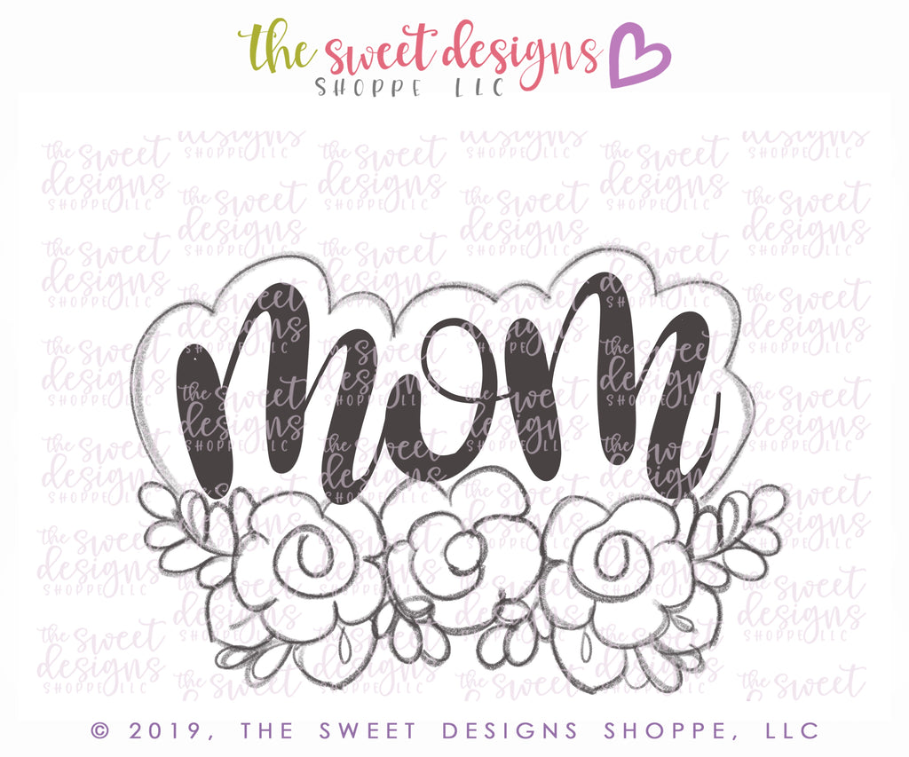 Mom Plaque - Cutter