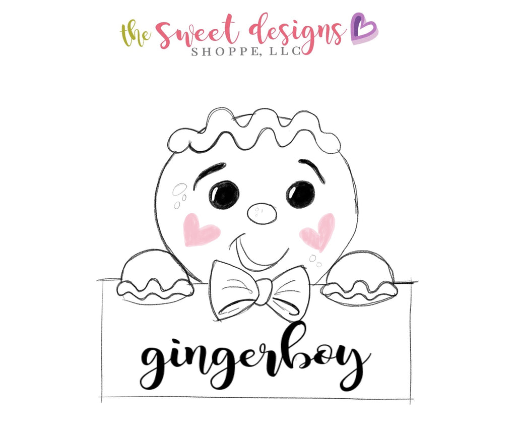 Gingerboy Plaque