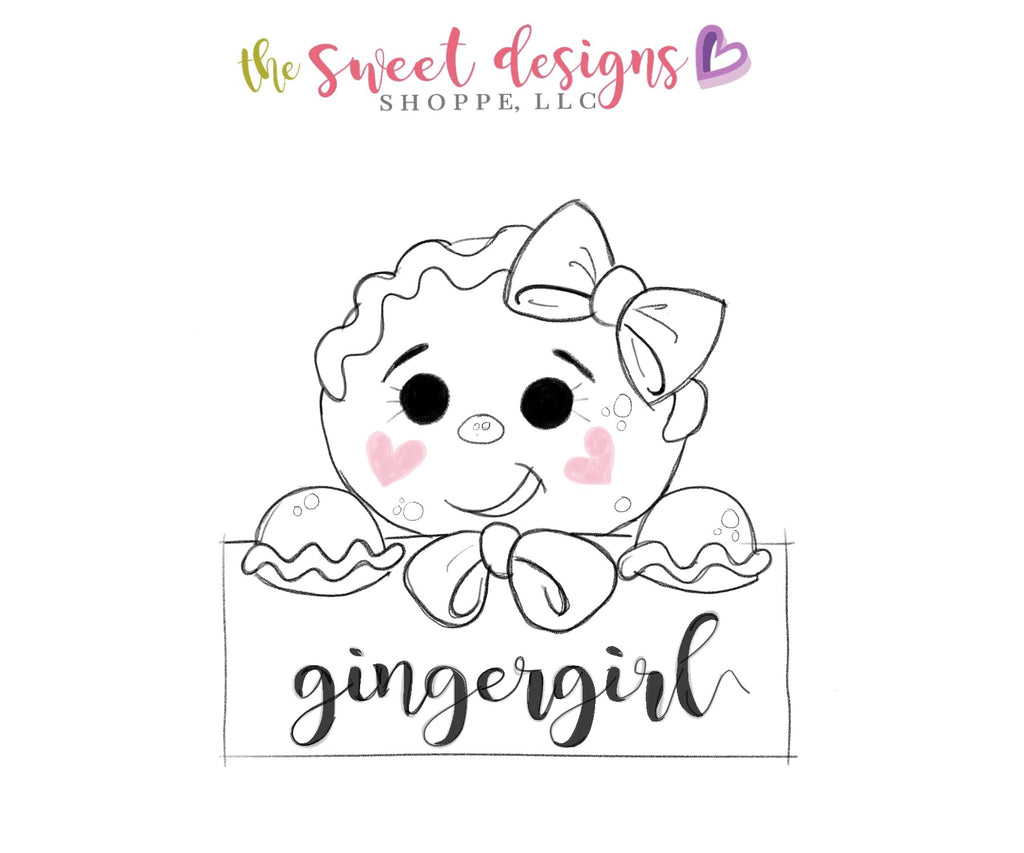 Gingergirl Plaque - Cutter