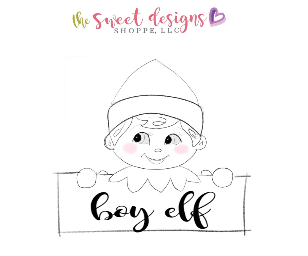 Christmas Elf Plaque