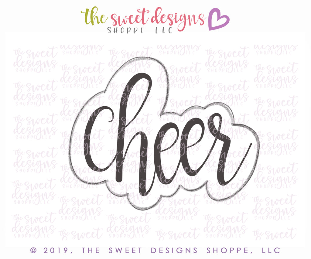 Cheer Plaque - Cutter