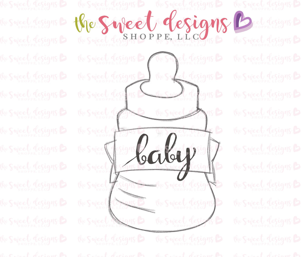 Baby Bottle with Ribbon 2018