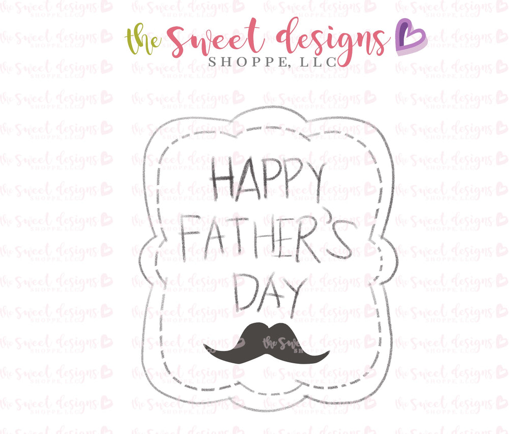 Happy Father's Day Plaque - Cutter