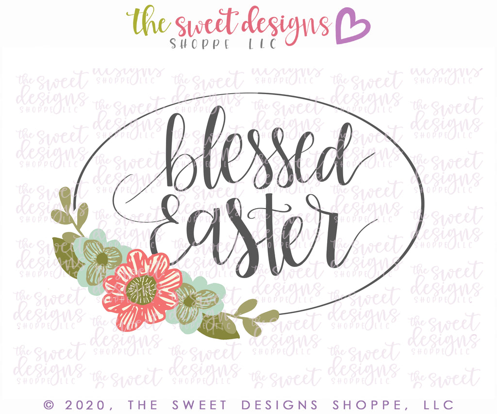 Blessed Easter Plaque 2020 - Cutter