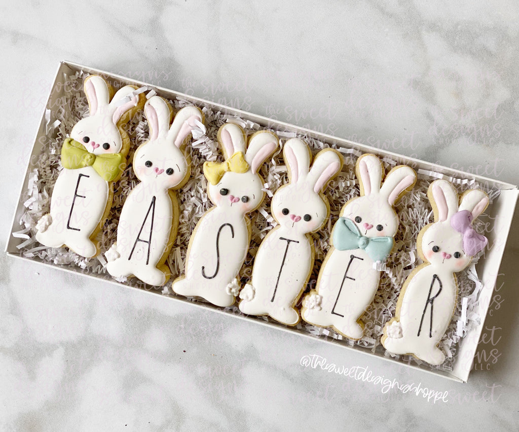 Long Easter Bunny Set - Cutters
