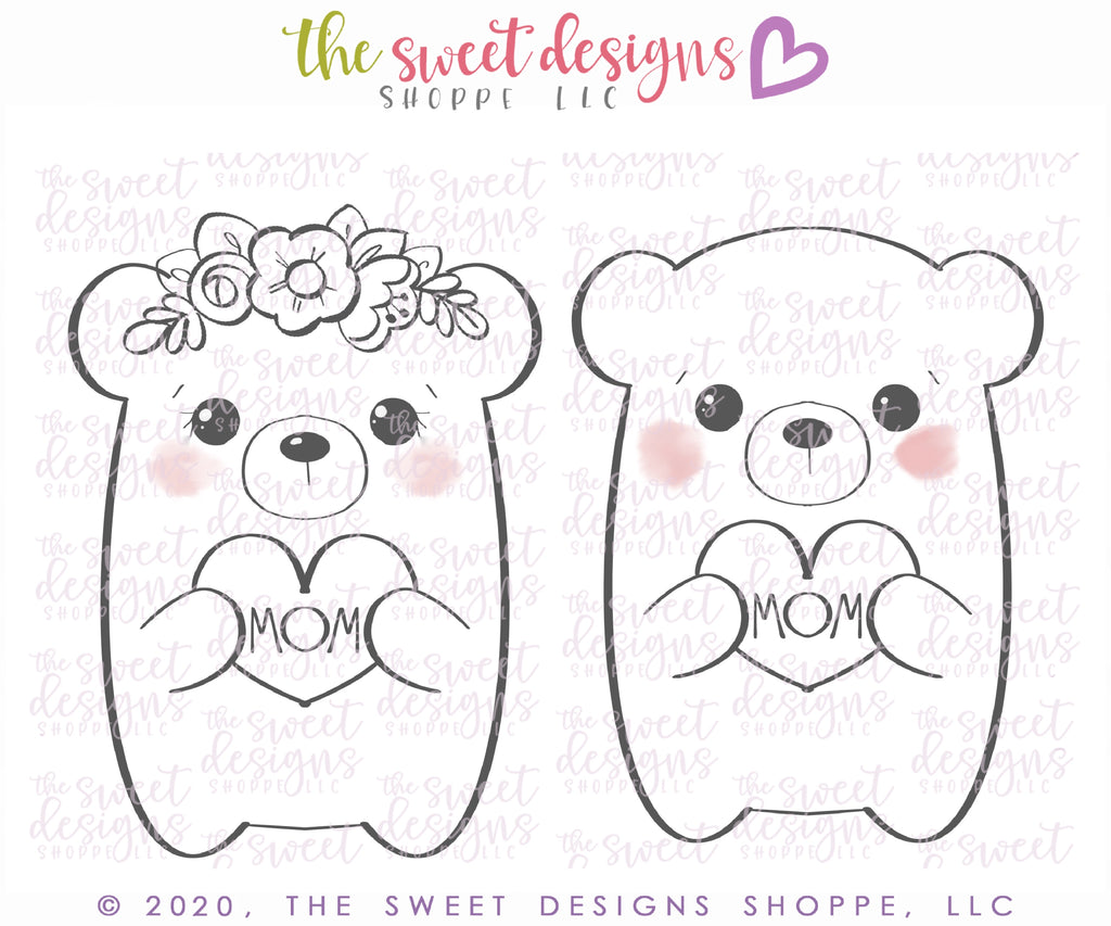 Cute Bears - 2 Piece Set - Cutters