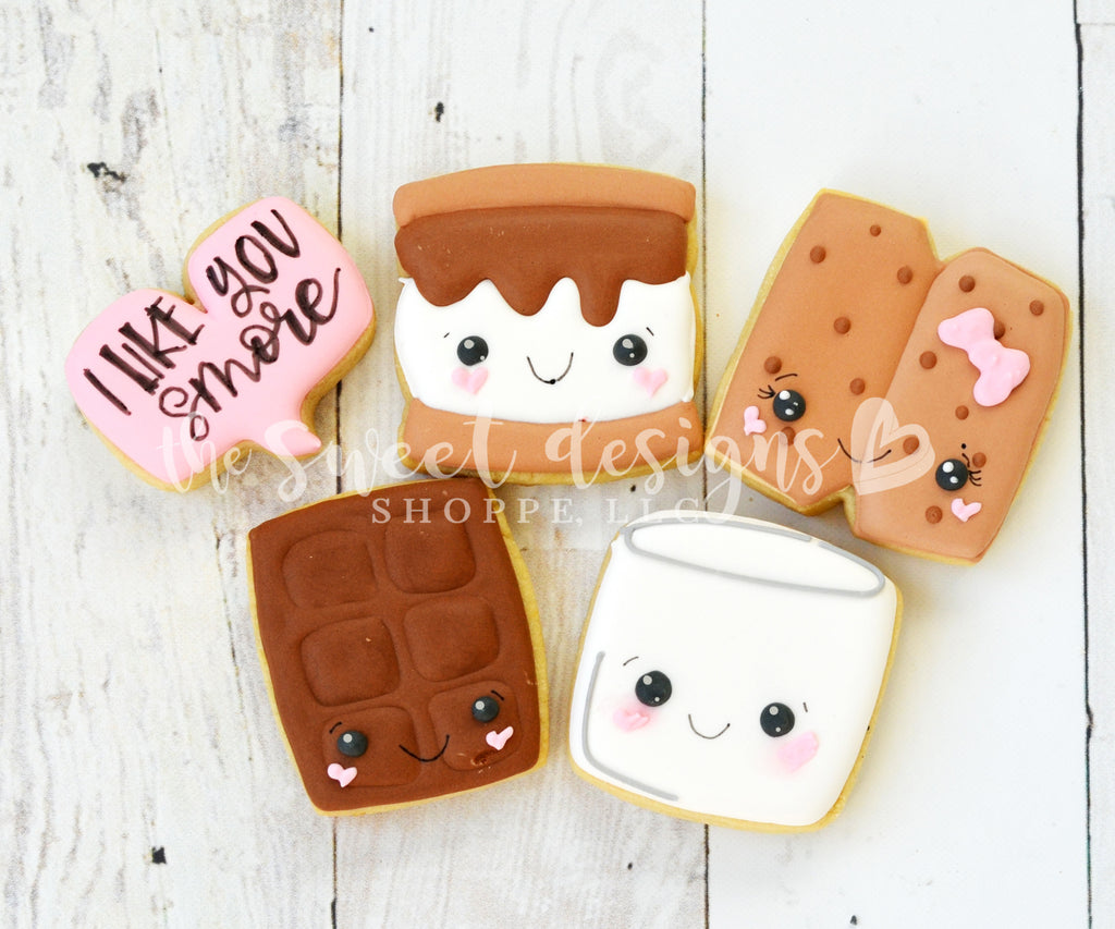 Valentines Mini Love S'more - Cutters