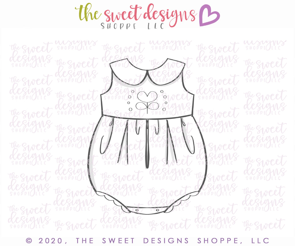 Summer Baby Girl Romper - Cutter