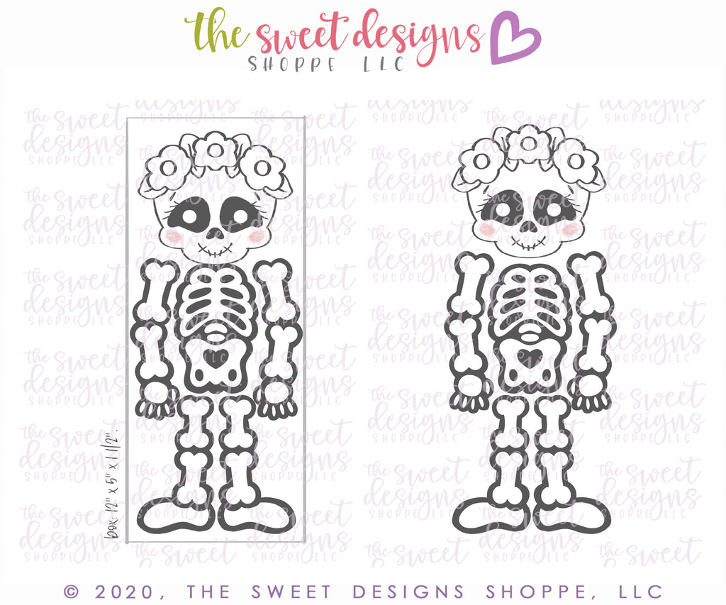 Girly Skeleton Set - Cutters