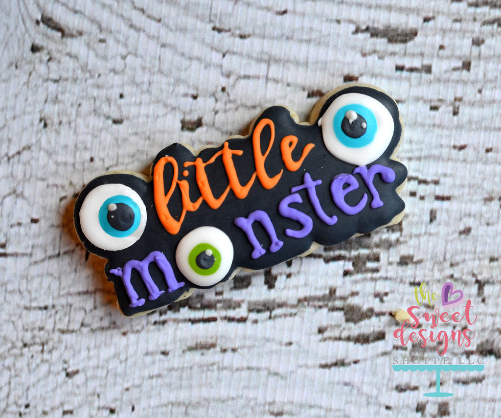 Little Monster Plaque - Cutter