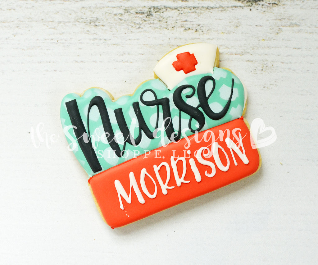 Nurse Plaque - Cutter