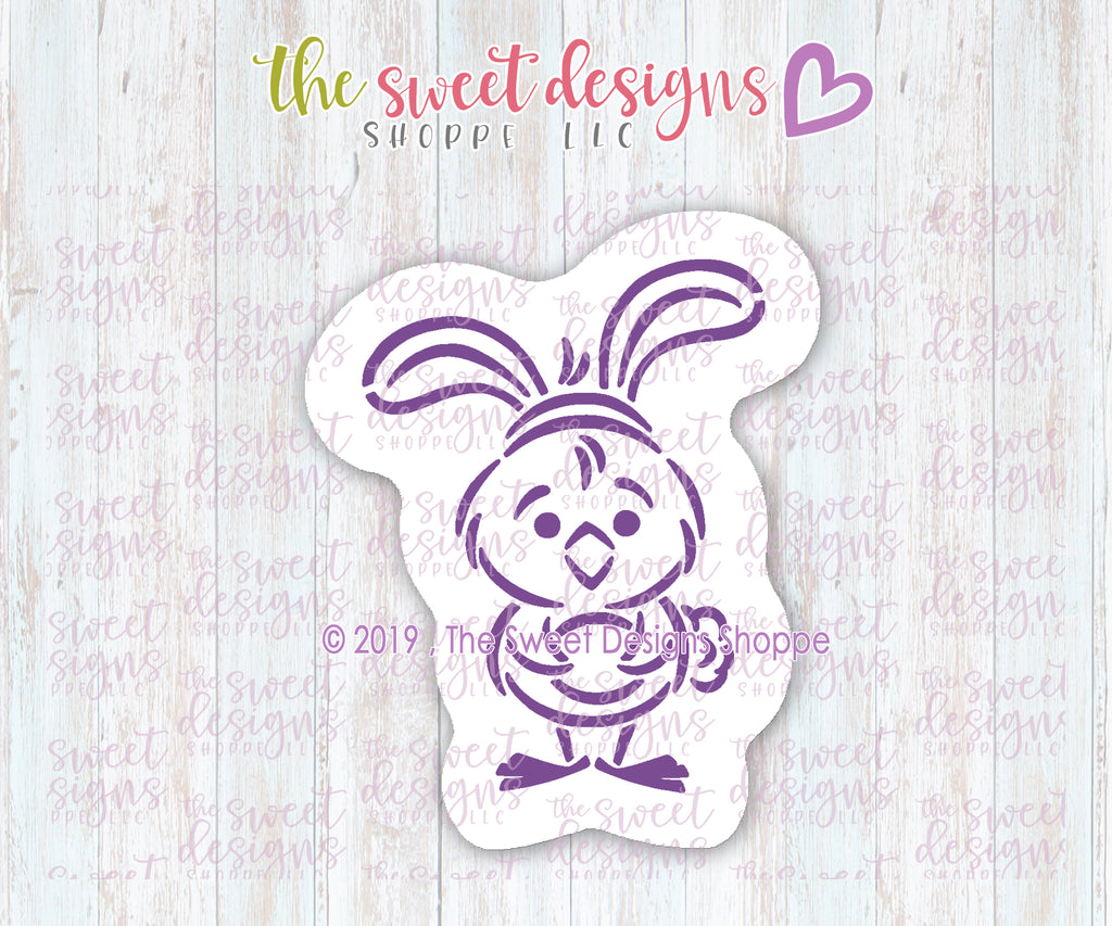 PYOC Bunny Chick Bundle  (Cutter & Stencil)