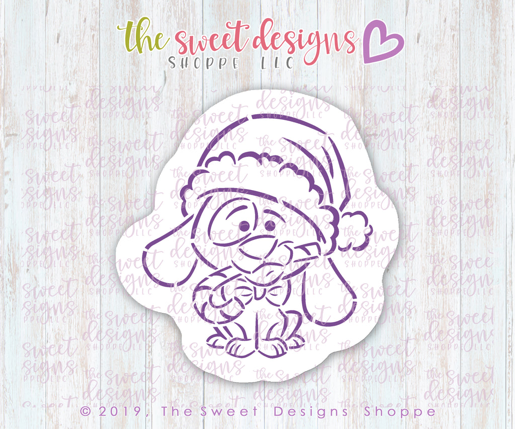Christmas Puppy PYOC Bundle  (Cutter & Stencil)