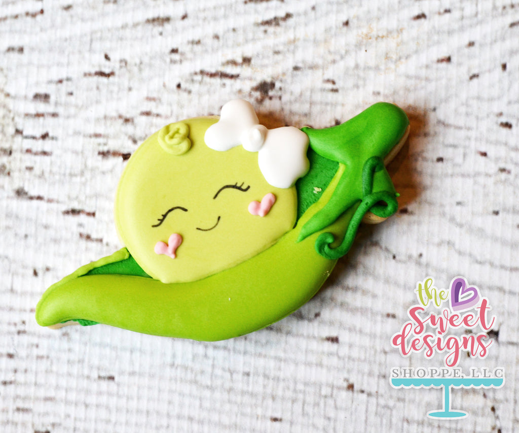 A Pea With Bow in a Pod - Cutter