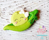 A Pea With Bow in a Pod