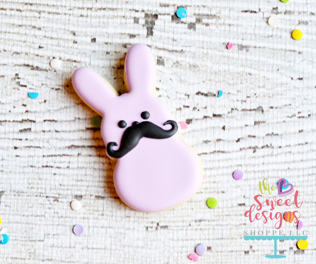 Marshmallow with Mustache - Cutter
